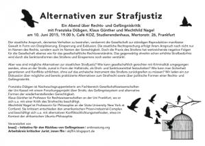 Flyer Alternativen-Veranstaltung Print